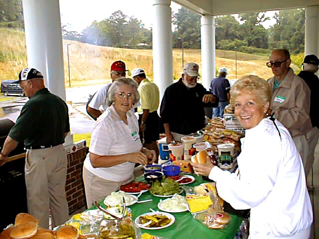 Vets picnic in Fayetteville, NC